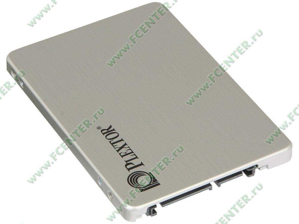 "SSD диск 128ГБ 2.5"" Plextor ""S3"" (SATA III). Вид спереди."