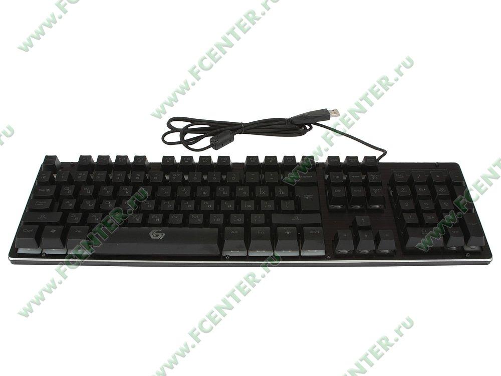 """Клавиатура Gembird """"KB-G400L"""" (USB). Вид спереди."""