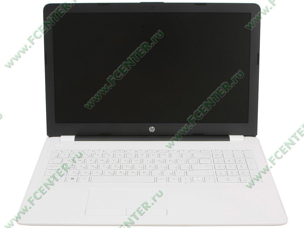"""Ноутбук HP """"15-bw030ur"""". Вид cпереди 1."""