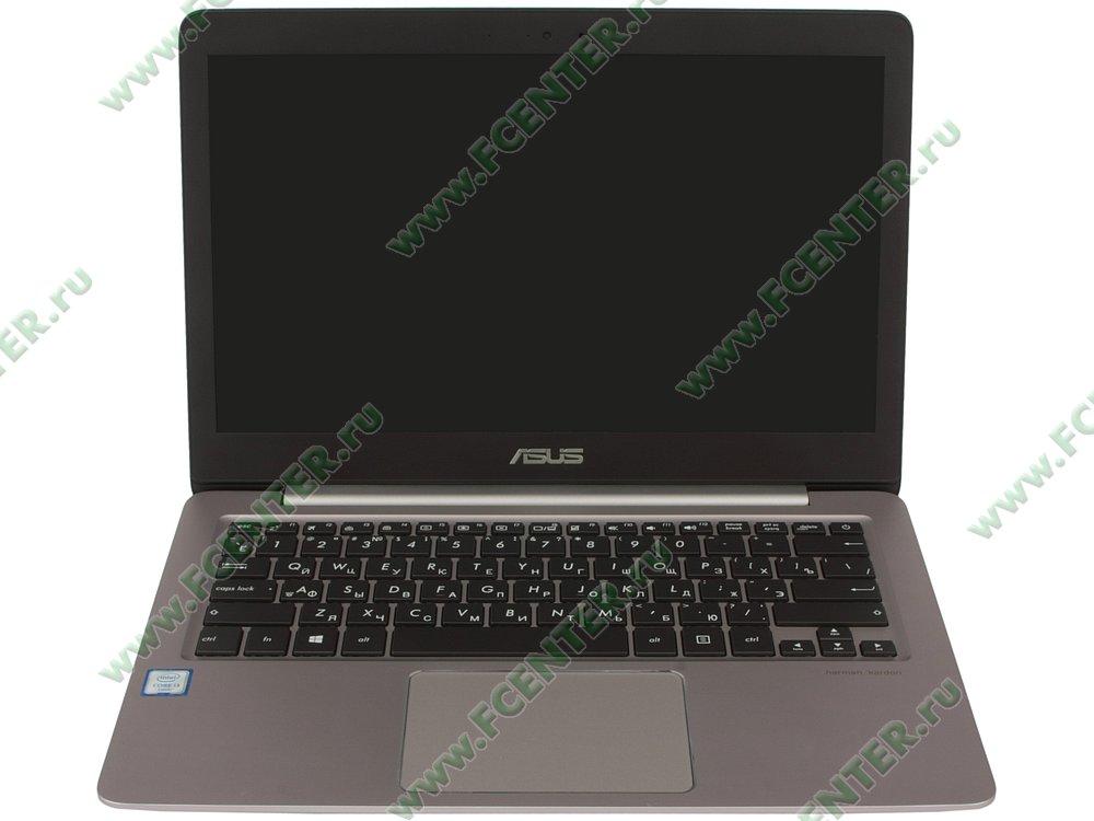 """Ноутбук ASUS """"Zenbook UX310UA-FC044T"""". Вид cпереди 1."""