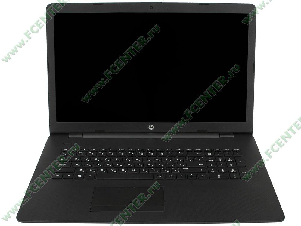 """Ноутбук HP """"17-ak009ur"""". Вид cпереди 1."""