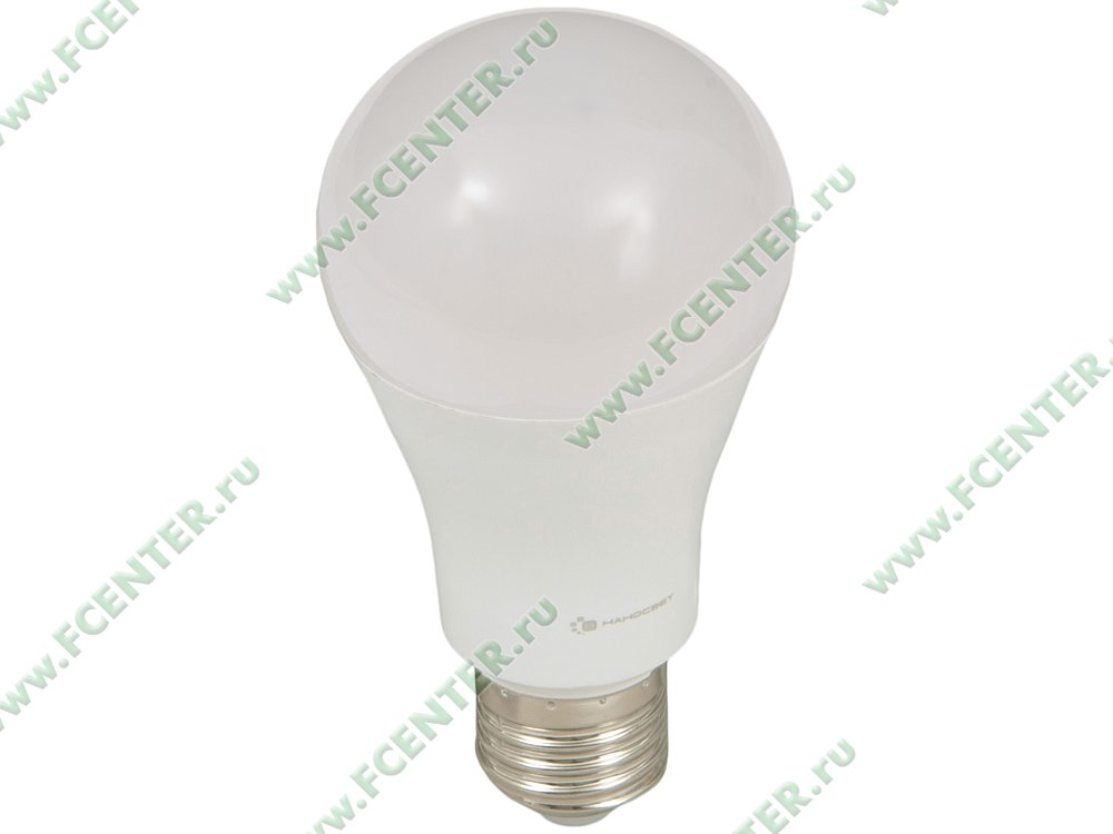"""Лампа светодиодная Наносвет """"LC-GLS-18/E27/827"""" ART.L198. Вид спереди."""