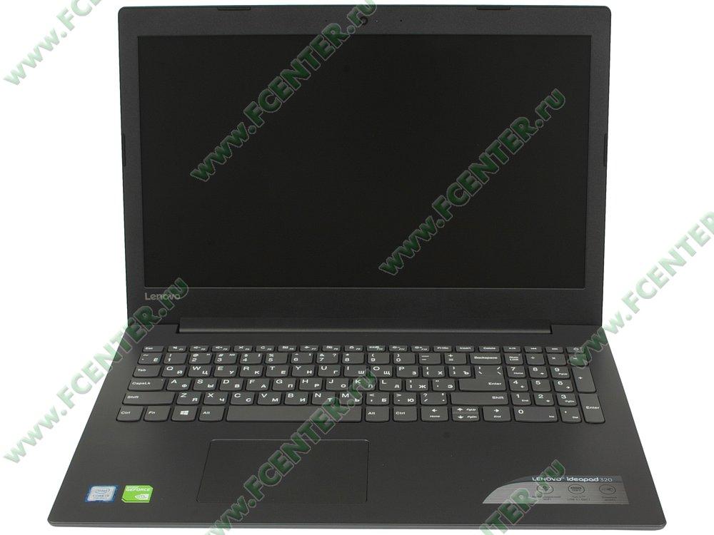 """Ноутбук Lenovo """"IdeaPad 320-15IKB"""". Вид cпереди 1."""