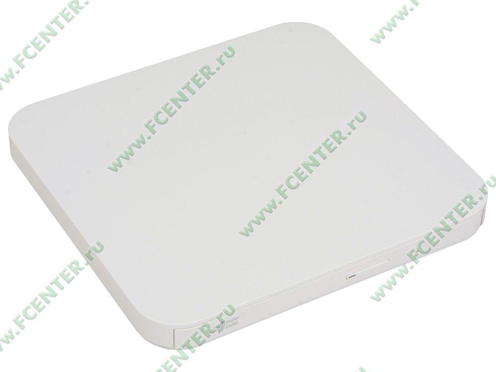 """Привод DVD±RW Привод DVD±RW LG """"GP95NW70"""" (USB2.0). Вид спереди."""