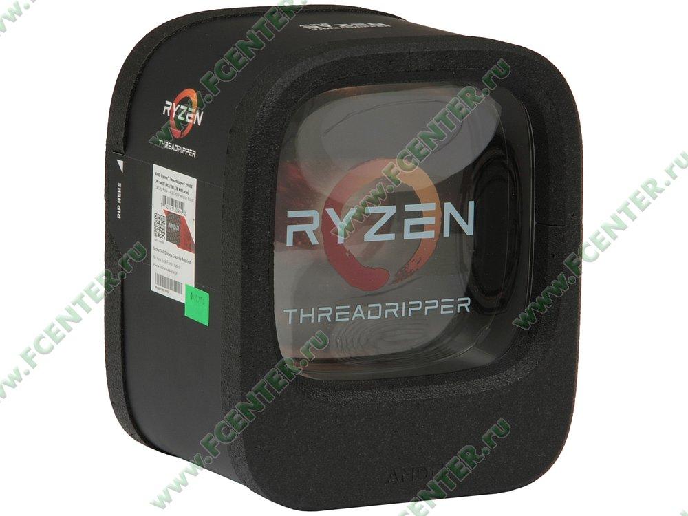 """Процессор AMD """"Ryzen Threadripper 1900X"""" SocketTR4. Коробка."""