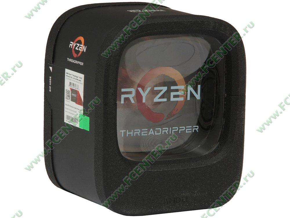"""Процессор AMD """"Ryzen Threadripper 1920X"""" SocketTR4. Коробка."""