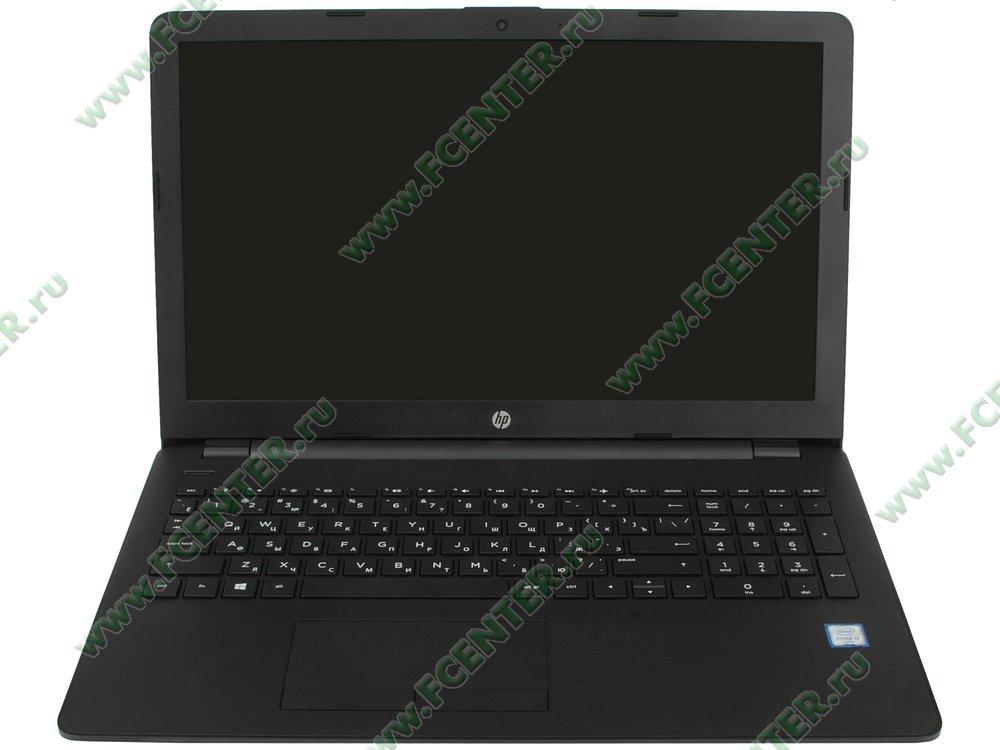 """Ноутбук HP """"15-bs013ur"""". Вид cпереди 1."""