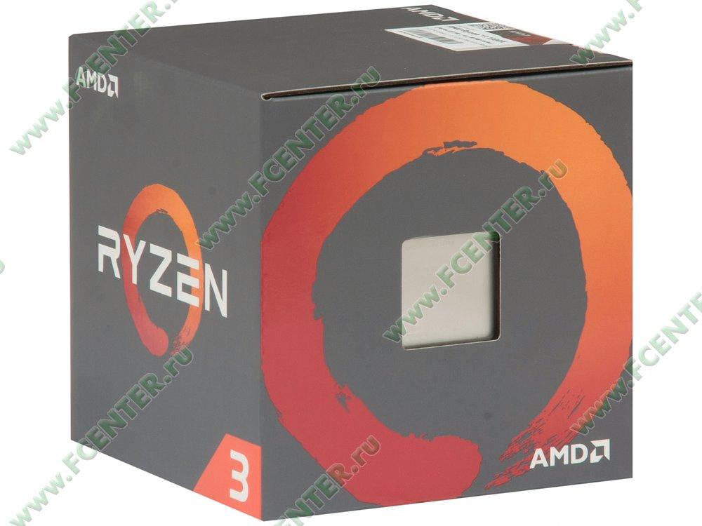 """Процессор AMD """"Ryzen 3 1300X"""" SocketAM4. Коробка."""
