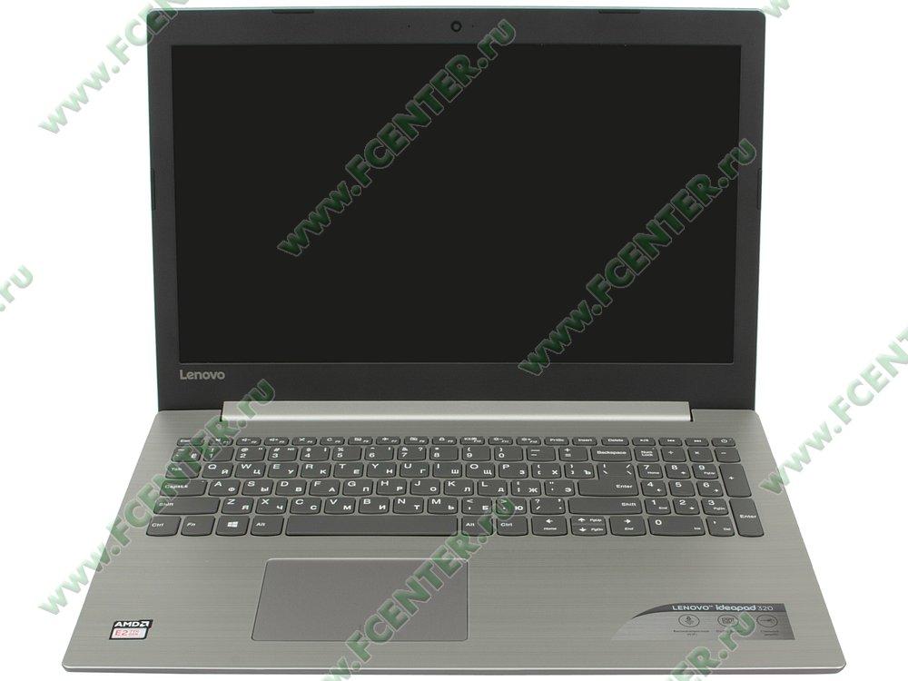 """Ноутбук Lenovo """"IdeaPad 320-15AST"""". Вид cпереди 1."""