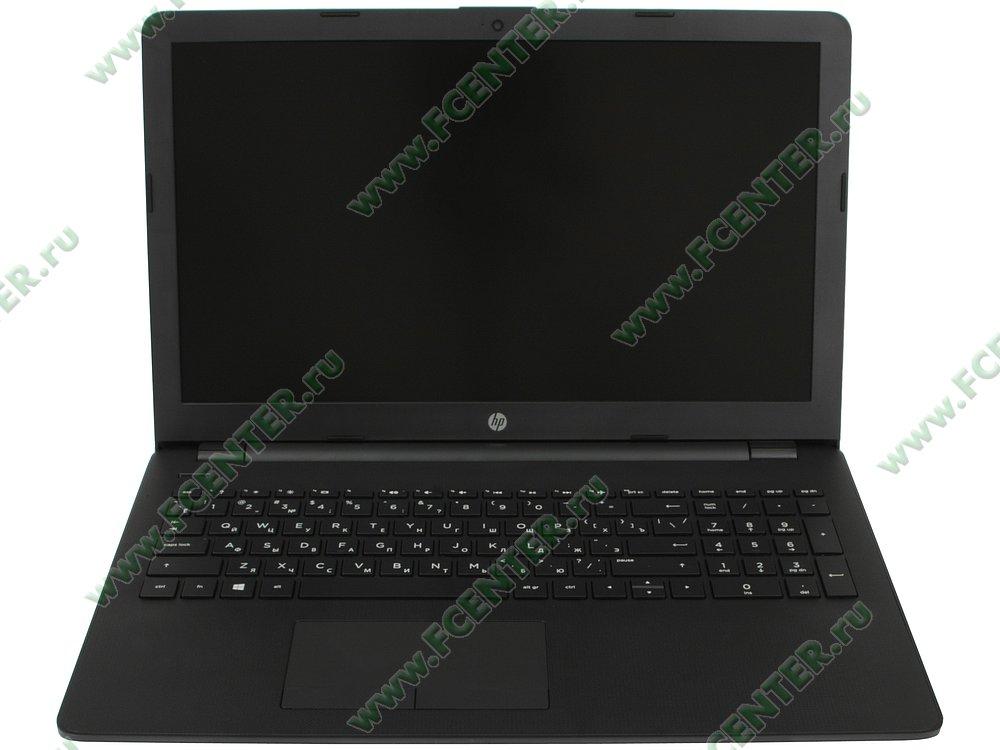 """Ноутбук HP """"15-bw090ur"""". Вид cпереди 1."""
