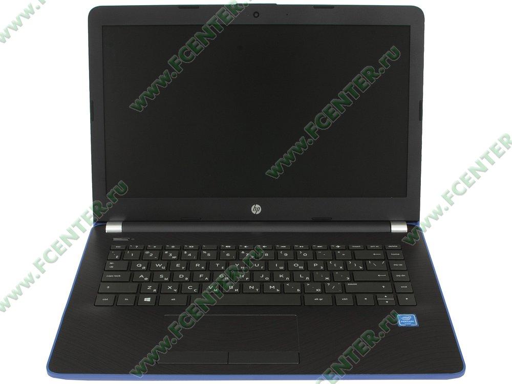 """Ноутбук HP """"14-bs014ur"""". Вид cпереди 1."""