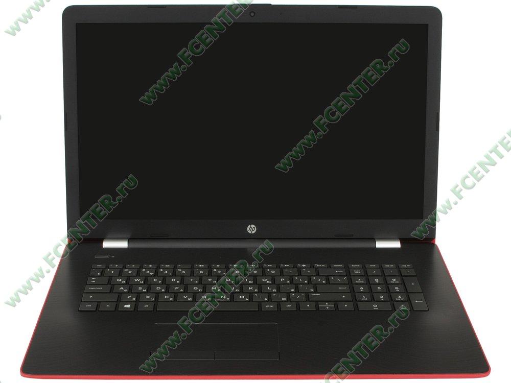 """Ноутбук HP """"17-ak029ur"""". Вид cпереди 1."""