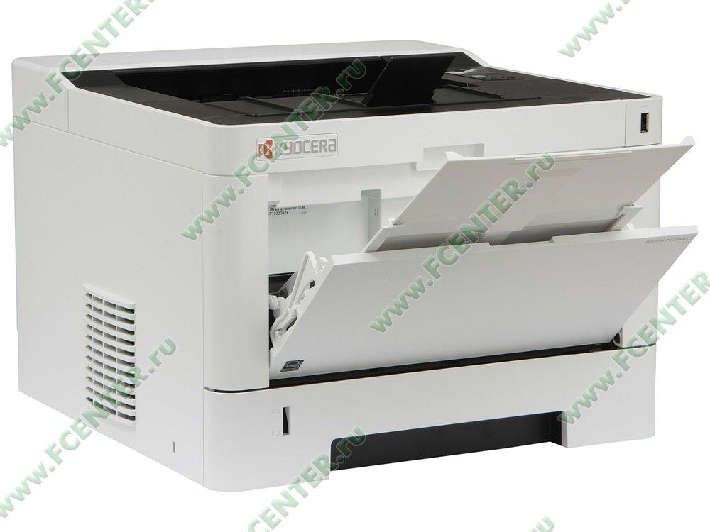 """Лазерный принтер Kyocera """"ECOSYS P2235dn"""" A4 (USB2.0, LAN). Вид спереди."""