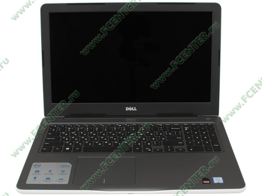 """Ноутбук Dell """"Inspiron 5567"""". Вид cпереди 1."""