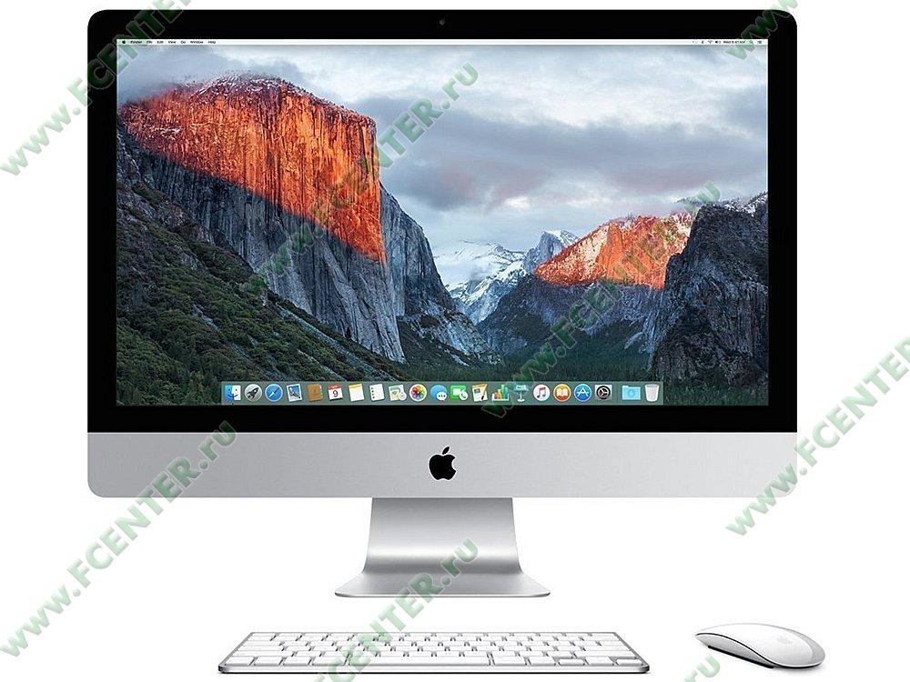"Моноблок Apple ""iMac 27"" Retina 5K"". Фото производителя."
