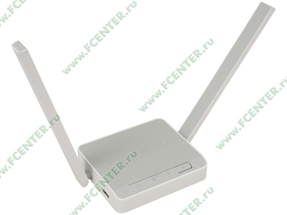 "Беспроводной маршрутизатор KEENETIC ""4G"" KN-1210. Вид спереди."