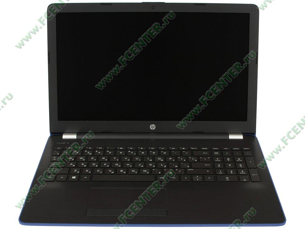 """Ноутбук HP """"15-bw531ur"""". Вид cпереди 1."""