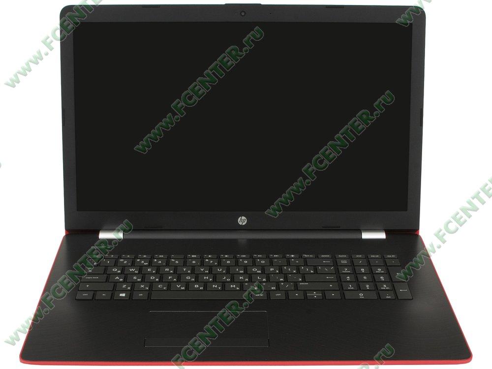 """Ноутбук HP """"17-ak084ur"""". Вид cпереди 1."""