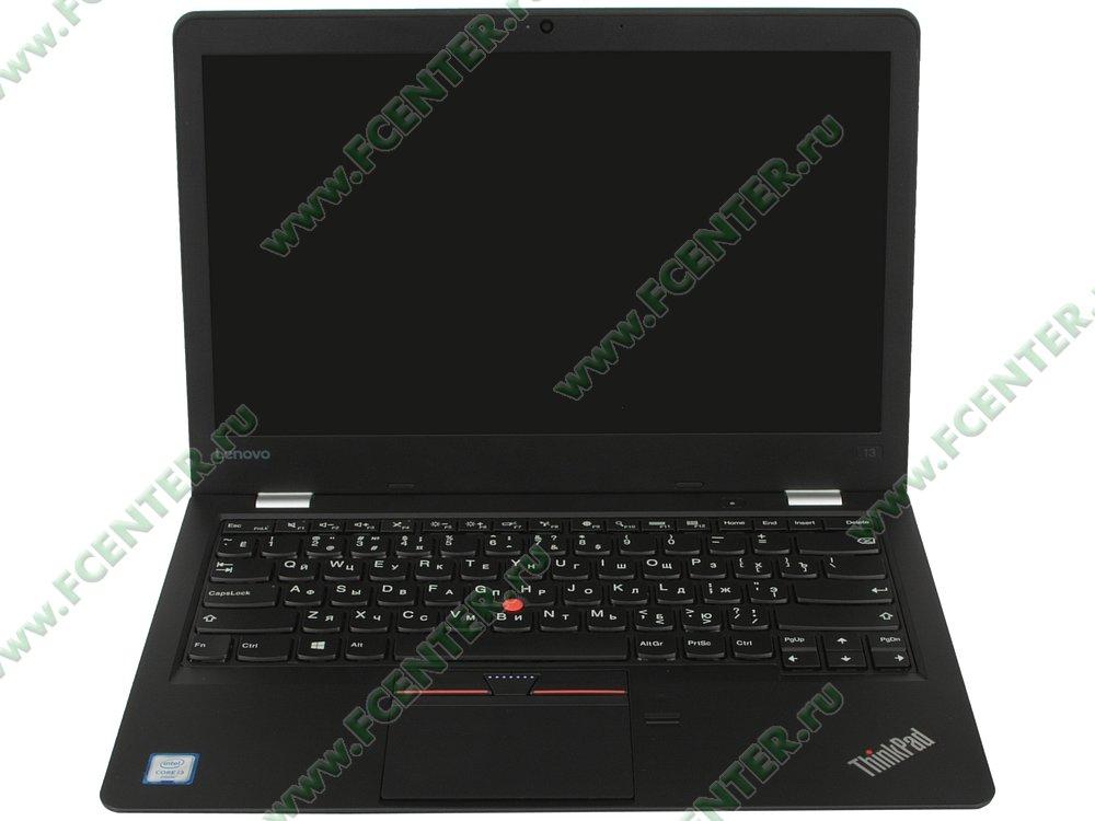 """Ноутбук Lenovo """"ThinkPad 13"""". Вид cпереди 1."""