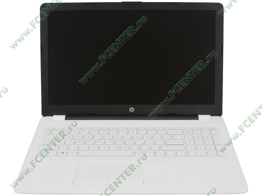 """Ноутбук HP """"15-bw593ur"""". Вид cпереди 1."""