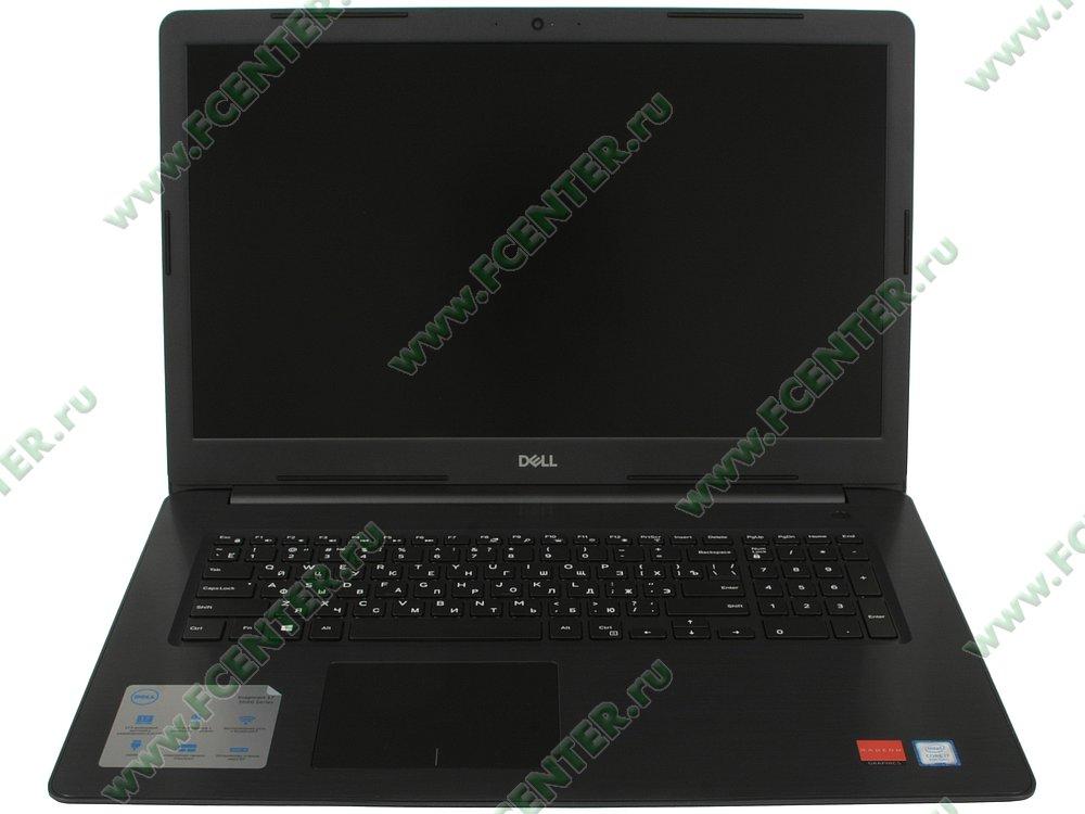 """Ноутбук Dell """"Inspiron 5770"""". Вид cпереди 1."""