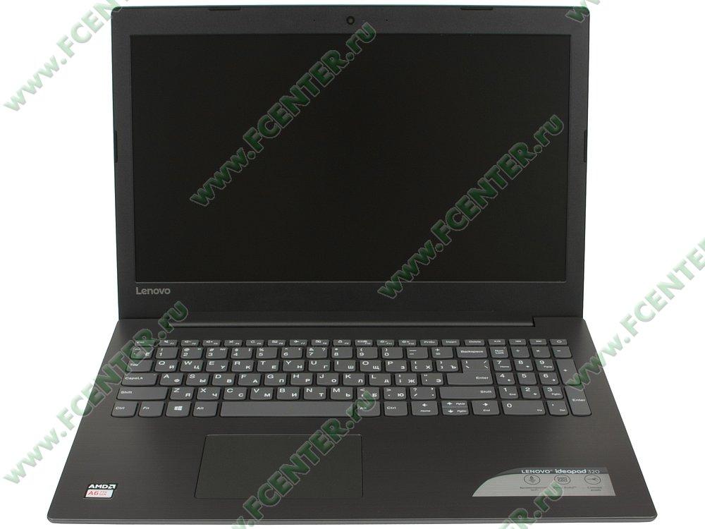 """Ноутбук Lenovo """"IdeaPad 320-15AST"""". Вид спереди 1."""