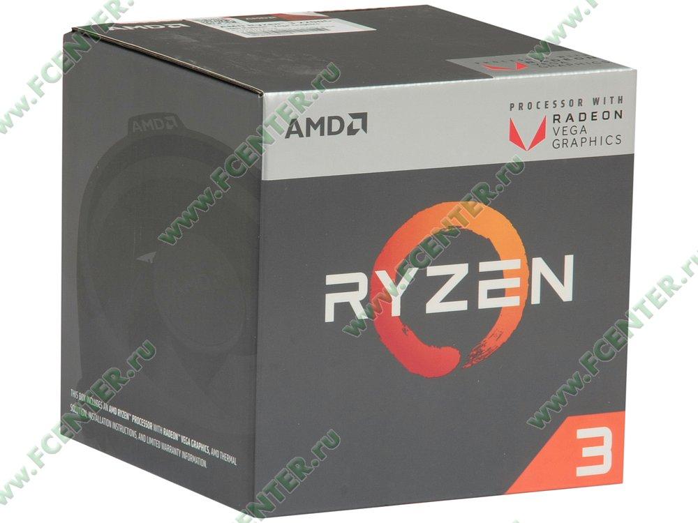 "Процессор AMD ""Ryzen 3 2200G"" SocketAM4. Коробка."