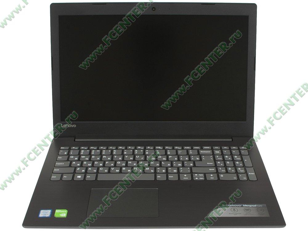 """Ноутбук Lenovo """"IdeaPad 320-15ISK"""". Вид cпереди 1."""