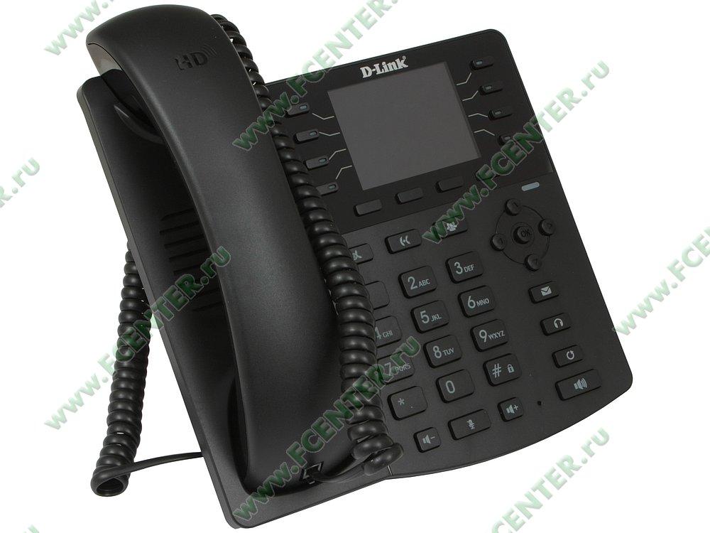 "VoIP-телефон D-Link ""DPH-150SE/F5A"". Вид спереди."