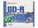 Диск BD-R 25ГБ 4x Pioneer