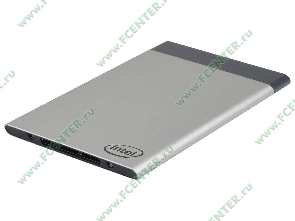 "Микрокомпьютер Intel ""Compute Card CD1M3128MK"". Фото производителя."