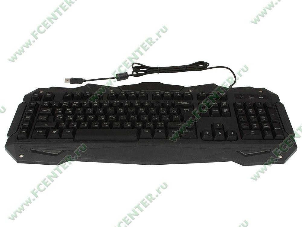 """Клавиатура Gembird """"KB-G200L"""" (USB). Вид спереди."""