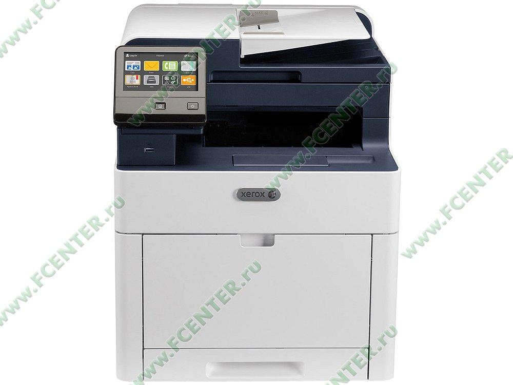 "Цветное многофункциональное устройство Xerox ""WorkCentre 6515DNI"" (USB3.0, LAN, WiFi). Фото производителя."