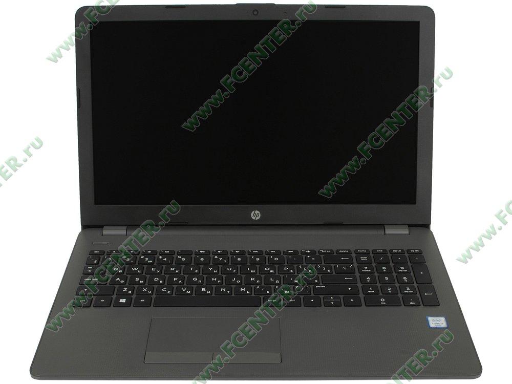 """Ноутбук HP """"250 G6"""". Вид cпереди 1."""