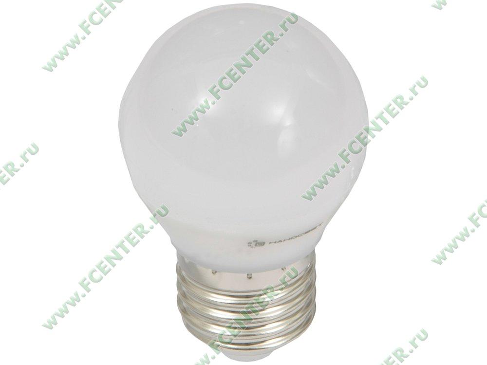 """Лампа светодиодная Наносвет """"LE-P45-6.5/E27/827"""" ART.L132. Вид спереди."""