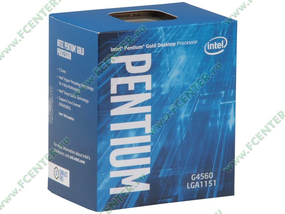 "Процессор Intel ""Pentium G4560"" Socket1151. Коробка."