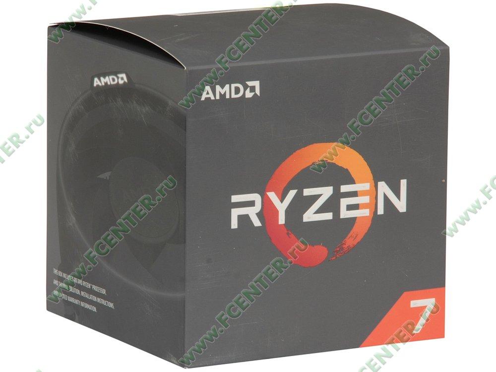 "Процессор AMD ""Ryzen 7 2700"" SocketAM4. Коробка."
