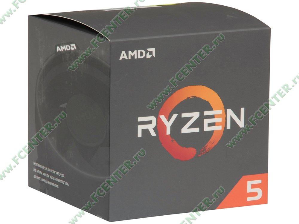"Процессор AMD ""Ryzen 5 2600"". Коробка."
