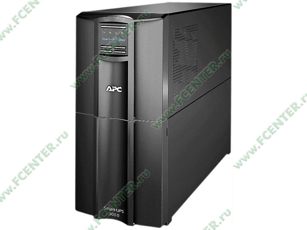 """Источник бесперебойного питания 3000ВА APC """"Smart-UPS 3000"""" (USB, COM). Фото производителя."""