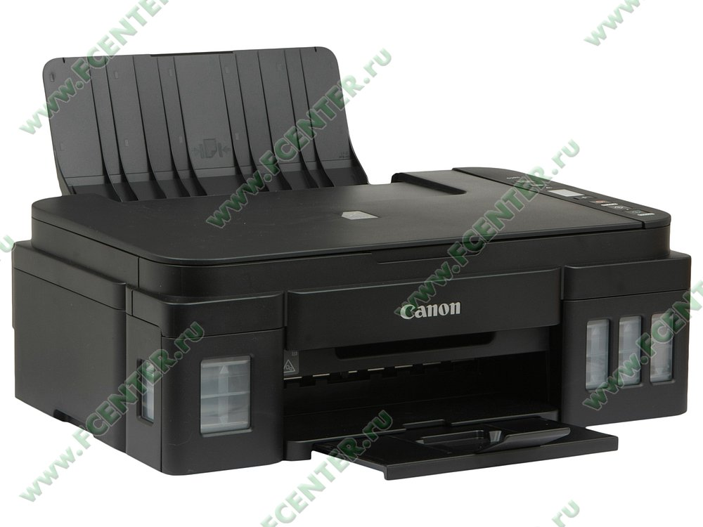 """Многофункциональное устройство Canon """"PIXMA G2411"""" (USB2.0). Вид спереди 1."""