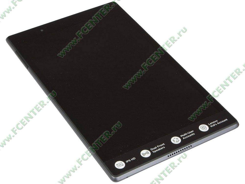 """Планшет Lenovo """"Tab4 8 TB-8504X"""". Вид спереди 1."""