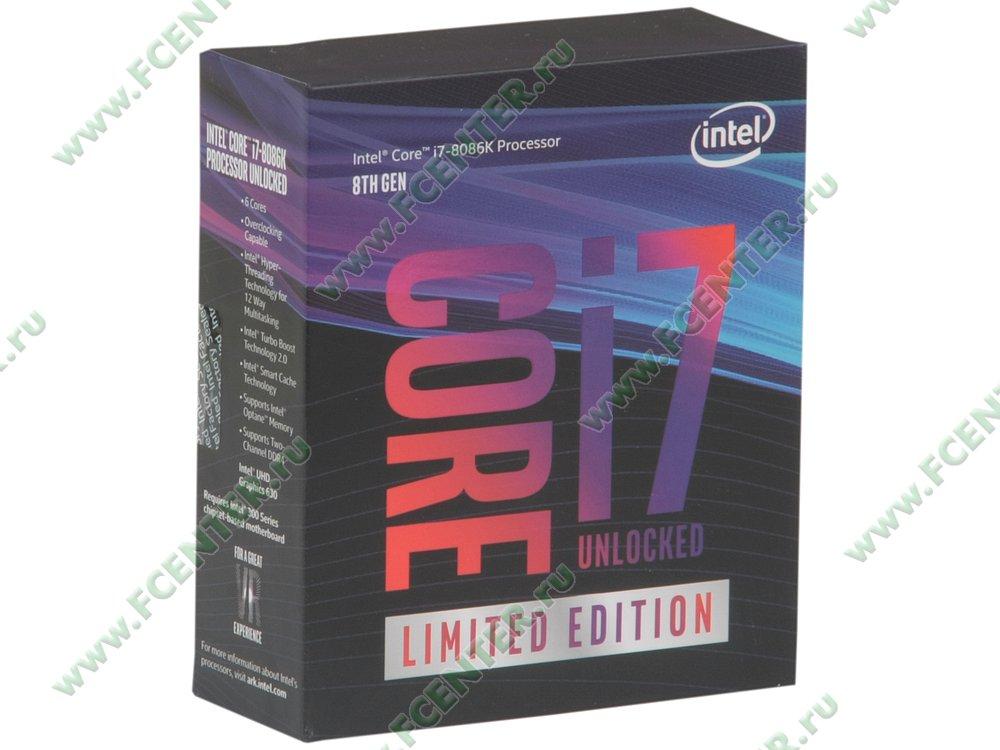 """Процессор Intel """"Core i7-8086K Socket1151. Коробка."""