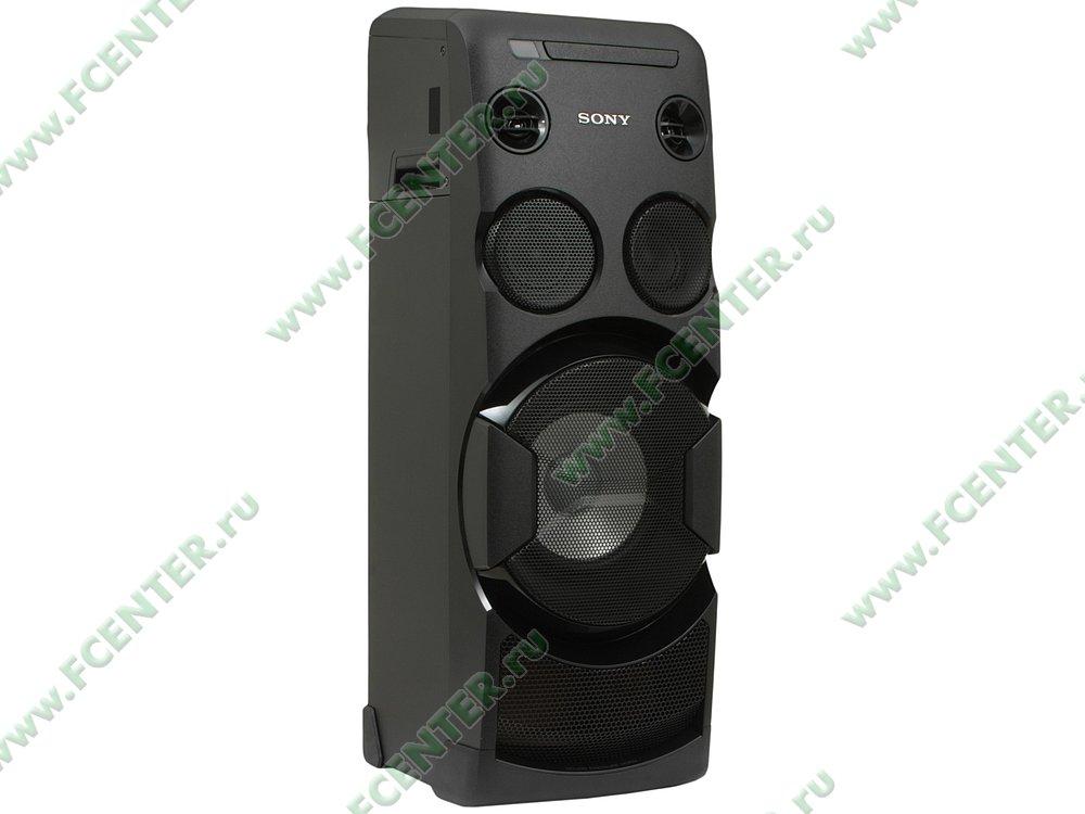 "Акустическая система Sony ""MHC-V50D//C"". Вид спереди."