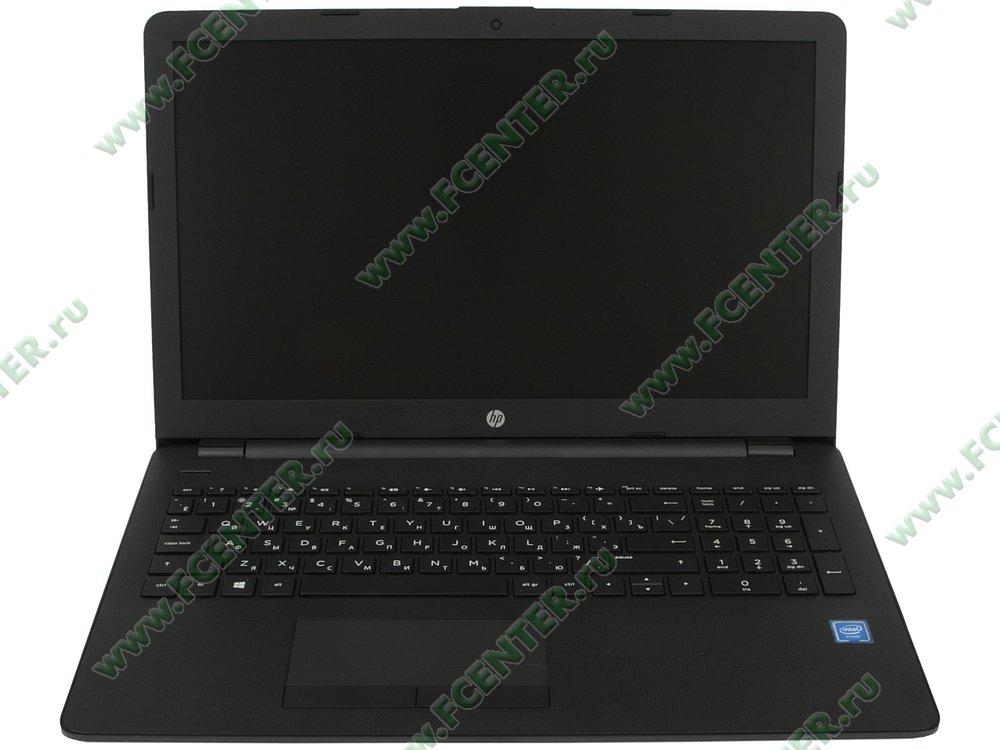 """Ноутбук HP """"15-ra060ur"""". Вид cпереди 1."""