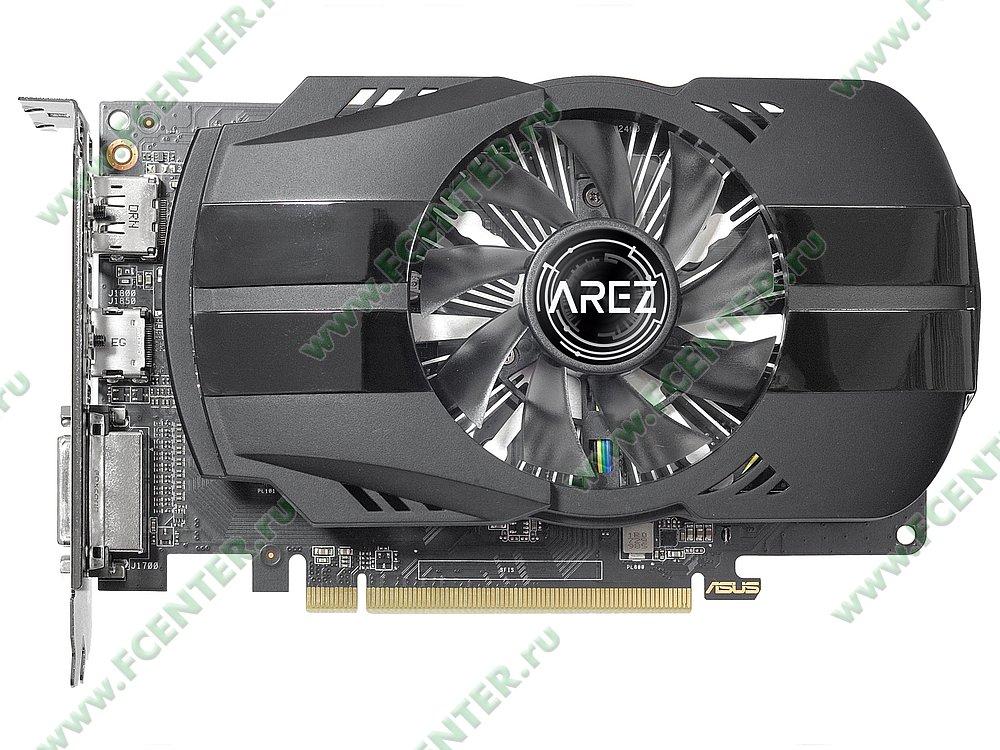 """Видеокарта ASUS """"Radeon RX 550 2ГБ"""" AREZ-PH-RX550-2G. Фото производителя 1."""