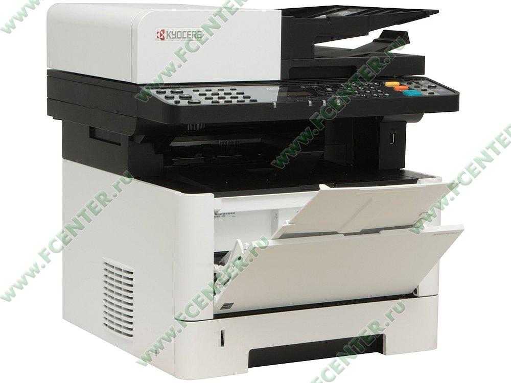 """Многофункциональное устройство Kyocera """"ECOSYS M2735dn"""" (USB2.0, LAN). Вид спереди 1."""