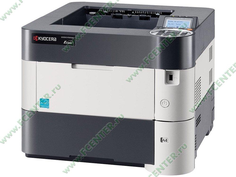"""Лазерный принтер Kyocera """"ECOSYS P3055dn"""" A4 (USB2.0, LAN). Фото производителя."""