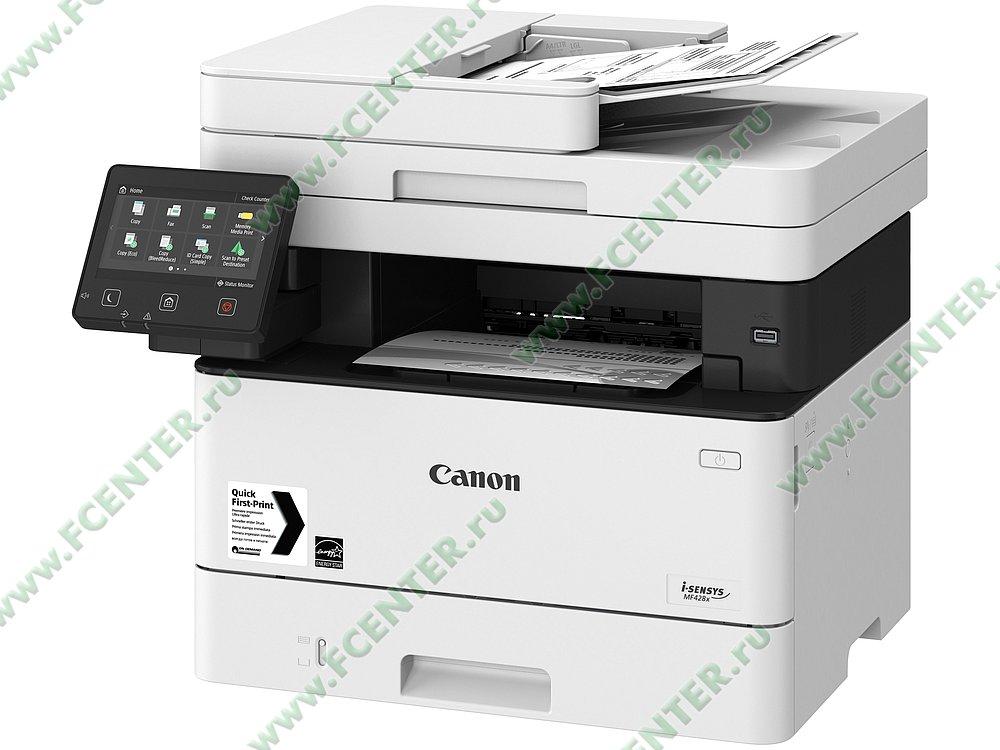 "Многофункциональное устройство Canon ""i-SENSYS MF428x"" (USB2.0, LAN, WiFi). Фото производителя 1."