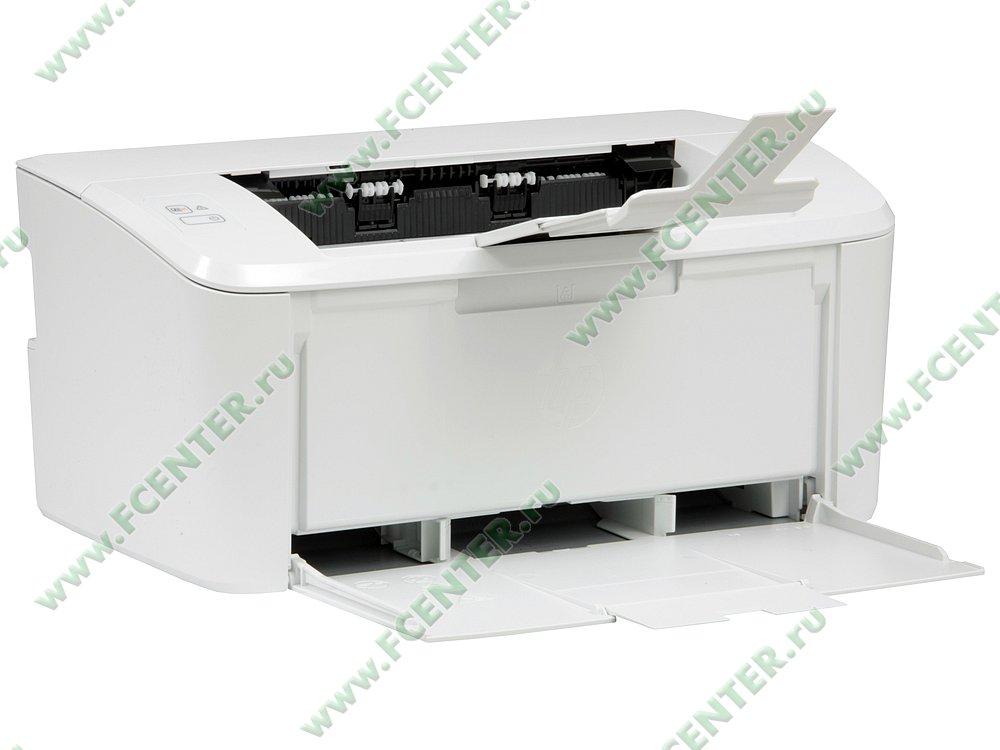 """Лазерный принтер HP """"LaserJet Pro M15a"""" A4 (USB2.0). Вид спереди 1."""