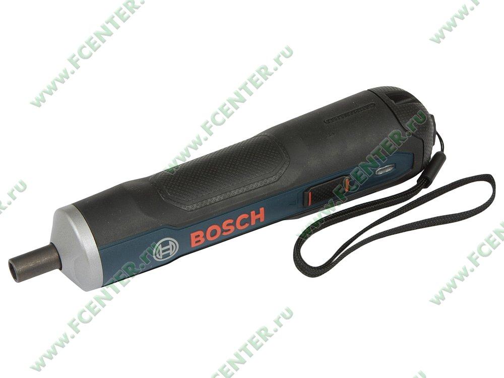 """Отвертка Bosch """"Go"""". Вид спереди."""